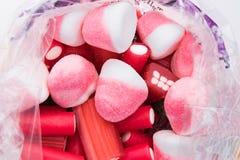Συσκευασμένες γλυκά και απολαύσεις στοκ εικόνες