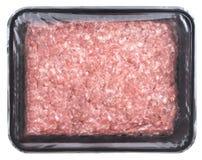 Συσκευασμένος κομματιάστε το κρέας στοκ φωτογραφία