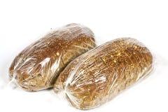 Συσκευασμένος στο πλαστικό ψωμί στοκ εικόνα με δικαίωμα ελεύθερης χρήσης