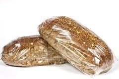 Συσκευασμένος στο πλαστικό ψωμί στοκ εικόνες