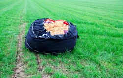 Συσκευασμένο μπαλόνι ζεστού αέρα Στοκ εικόνα με δικαίωμα ελεύθερης χρήσης