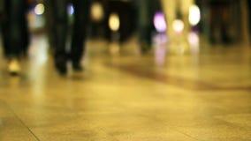 συσσωρευμένα βήματα μετρό απόθεμα βίντεο