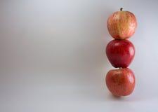 Συσσωρευμένα μήλα Στοκ φωτογραφία με δικαίωμα ελεύθερης χρήσης