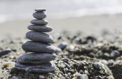 Συσσωρευμένες πέτρες θάλασσας Στοκ Εικόνα
