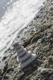 Συσσωρευμένες πέτρες θάλασσας Στοκ φωτογραφία με δικαίωμα ελεύθερης χρήσης