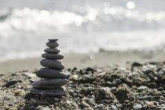 Συσσωρευμένες πέτρες θάλασσας Στοκ φωτογραφίες με δικαίωμα ελεύθερης χρήσης