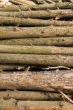 Συσσωρευμένη ξύλινη εικόνα Στοκ Φωτογραφίες