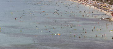 Συσσωρευμένη παραλία 043 Στοκ φωτογραφία με δικαίωμα ελεύθερης χρήσης