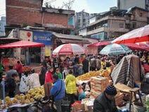 Συσσωρευμένη φυτική αγορά της Κίνας 11 Στοκ Εικόνες