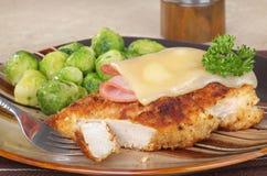 Συσσωρευμένη UEBL κορδονιών κοτόπουλου Στοκ Εικόνα
