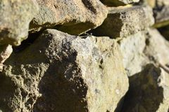 Συσσωρευμένοι επάνω βράχοι στοκ εικόνες με δικαίωμα ελεύθερης χρήσης