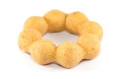 Συσσωρευμένος γλυκαμένος donuts στοκ φωτογραφίες