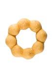 Συσσωρευμένος γλυκαμένος donuts στοκ εικόνα με δικαίωμα ελεύθερης χρήσης