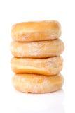 Συσσωρευμένος εύγευστος που γλυκαίνουν donuts στοκ φωτογραφίες