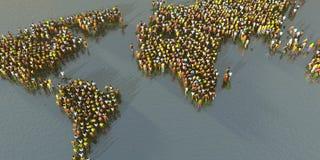 συσσωρευμένος πλανήτης Στοκ εικόνα με δικαίωμα ελεύθερης χρήσης