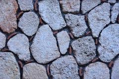 Συσσωρευμένος τοίχος πετρών στοκ εικόνες με δικαίωμα ελεύθερης χρήσης
