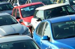 συσσωρευμένο αυτοκίνητο πάρκο Στοκ φωτογραφία με δικαίωμα ελεύθερης χρήσης