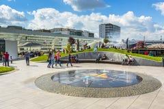 Συσσωρευμένο εμπορικό κέντρο, Βουκουρέστι, Ρουμανία Στοκ Εικόνα