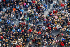 Συσσωρευμένο τετράγωνο Στοκ Εικόνα