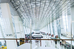 Συσσωρεύστε το τερματικό αερολιμένων Στοκ φωτογραφία με δικαίωμα ελεύθερης χρήσης