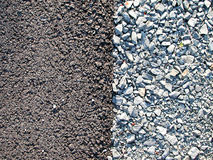 συστάσεις βράχων αμμοχάλ&io Στοκ Εικόνες