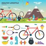 Συστάσεις για τον υγιή τρόπο ζωής Στοκ εικόνα με δικαίωμα ελεύθερης χρήσης