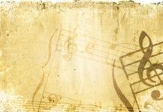 συστάσεις μελωδίας ανασκοπήσεων grunge Στοκ Εικόνες