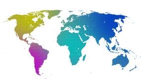 Συστάσεις που υφαίνονται του γήινου χάρτη 03 ελεύθερη απεικόνιση δικαιώματος