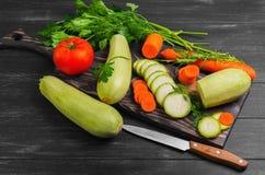 Συστατικά λαχανικών για τα φυτικά πιάτα Στοκ Φωτογραφίες