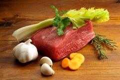 συστατικά βόειου κρέατο Στοκ Φωτογραφία