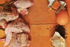 Πιάτο του κοτόπουλου Στοκ φωτογραφίες με δικαίωμα ελεύθερης χρήσης