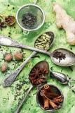 Συστατικά για το τσάι masala Στοκ φωτογραφία με δικαίωμα ελεύθερης χρήσης