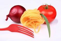 συστατικά δικράνων τροφίμ&ome Στοκ Εικόνα