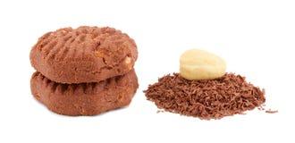 συστατικά μπισκότα Στοκ φωτογραφίες με δικαίωμα ελεύθερης χρήσης