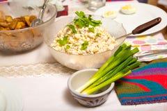 Συστατικά τροφίμων για ένα καλό και υγιές γεύμα Στοκ Εικόνες
