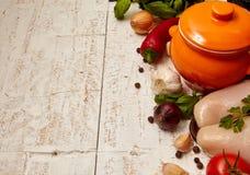 Συστατικό για τη σούπα στοκ εικόνες