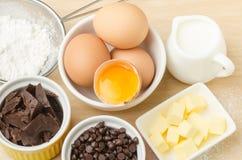 Συστατικό και συνταγή τροφίμων για την υποστήριξη Στοκ εικόνες με δικαίωμα ελεύθερης χρήσης