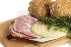 συστατικό σάντουιτς Στοκ φωτογραφία με δικαίωμα ελεύθερης χρήσης