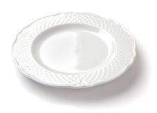 Συστατικό σύνθεσης cousine τροφίμων για την κατανάλωση του πιάτου κεραμικού Στοκ Εικόνα
