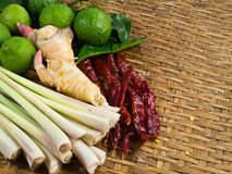 Συστατικό του ταϊλανδικού κάρρυ Στοκ Φωτογραφία