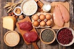 Συστατικό υψηλό στην πρωτεΐνη στοκ φωτογραφίες με δικαίωμα ελεύθερης χρήσης