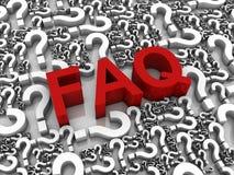 συχνά ερωτήσεις Ελεύθερη απεικόνιση δικαιώματος