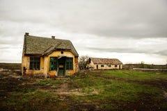 συχνασμένο σπίτι απόκοσμο Στοκ εικόνες με δικαίωμα ελεύθερης χρήσης
