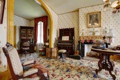Συχνασμένο σπίτι του Σαν Ντιέγκο Μουσείο σπιτιών Whaley, παλαιά πόλη στοκ εικόνες