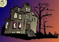 συχνασμένο σπίτι Στοκ Εικόνα