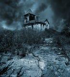 συχνασμένο σπίτι Στοκ εικόνες με δικαίωμα ελεύθερης χρήσης