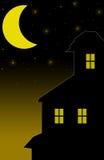 Συχνασμένο σπίτι ελεύθερη απεικόνιση δικαιώματος