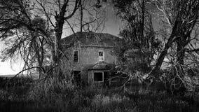 συχνασμένο σπίτι Στοκ Φωτογραφίες