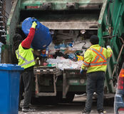 Συλλέκτες Garbages Στοκ φωτογραφία με δικαίωμα ελεύθερης χρήσης