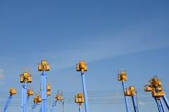 Συλλεκτική μηχανή κερασιών Στοκ φωτογραφία με δικαίωμα ελεύθερης χρήσης